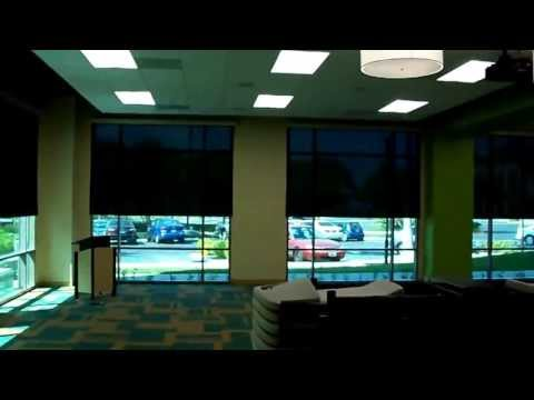 Somfy Motorized Solar Shades by 3 Blind Mice Window Coverings - San Diego