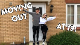 EMPTY HOUSE TOUR & Move In Day!