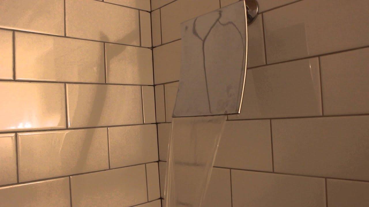 New Waterfall showerhead - YouTube