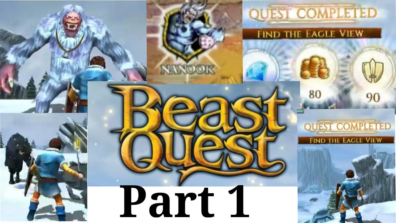 beast quest mod unlimited coins  gameplay  youtube