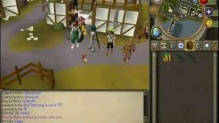 zfy gets 99 fletching!. runescape skiller
