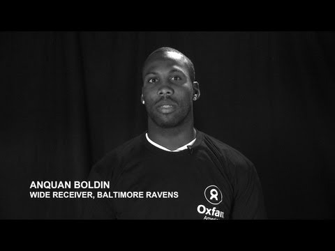 Anquan Boldin and Larry Fitzgerald Team Up with Oxfam to Save Lives in East Africa