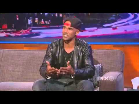 Shemar Moore @ The Arsenio Hall Show April 30 2014