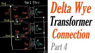 Introduction to the Delta Wye Transformer Connection Part 4: Current Relationship