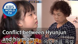 Conflict between Hyunjun and his mom  [Mr. House Husband/2020.08.06]