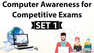 Computer Awareness for competitive exams SET 1 - IBPS / SBI / ALP / NABARD / Clerk / SSC