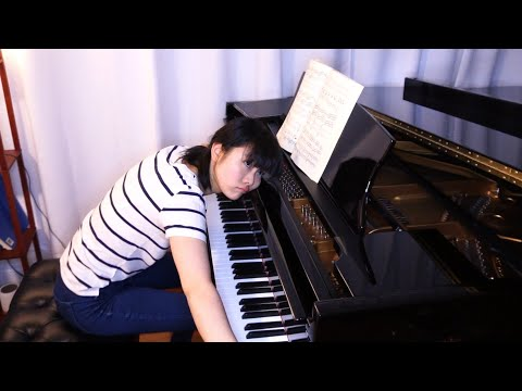 Practicing Brahms Concerto No.1 Octaves...😳💪😬   Tiffany Vlogs #108