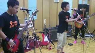 上五島高校生のバンドです。