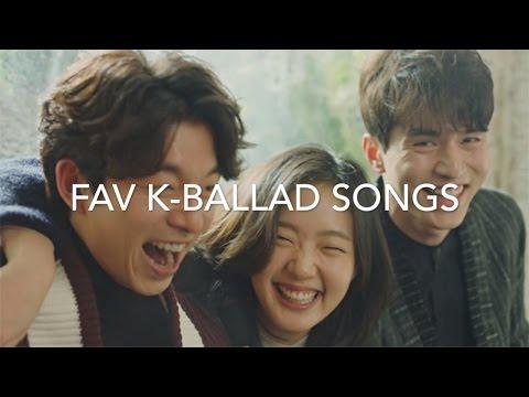 my favorite korean ballad songs