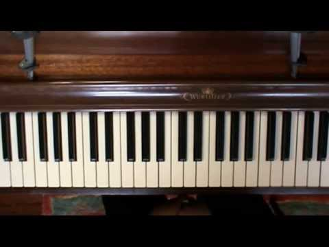 """""""The Giver"""" - Rosemary's Song Part 1 (Piano Tutorial)"""