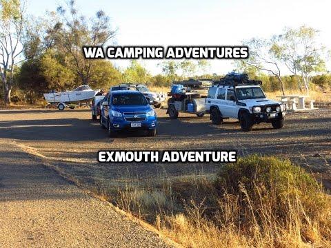 WA Camping Adventures | Exmouth | Mudcrabs | Fishing | Four Wheeling