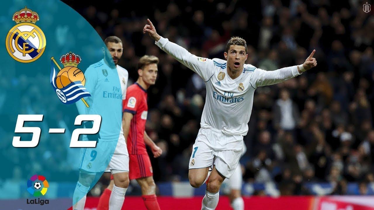 Real Sociedad Calendrier.اهداف ريال مدريد وريال سوسيداد 5 2 Hd Real Madrid Vs Real