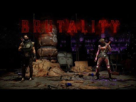 Mortal Kombat 11: Все Бруталити за Эррона Блэка (8/8)   Erron Black All 8 Brutalities