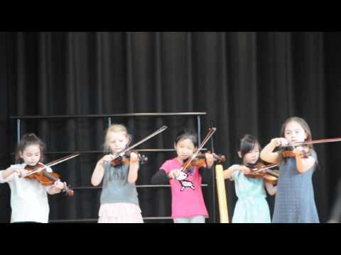 Squantum Elementary School Spring Concert - Katelyn Violin Performance June 2016