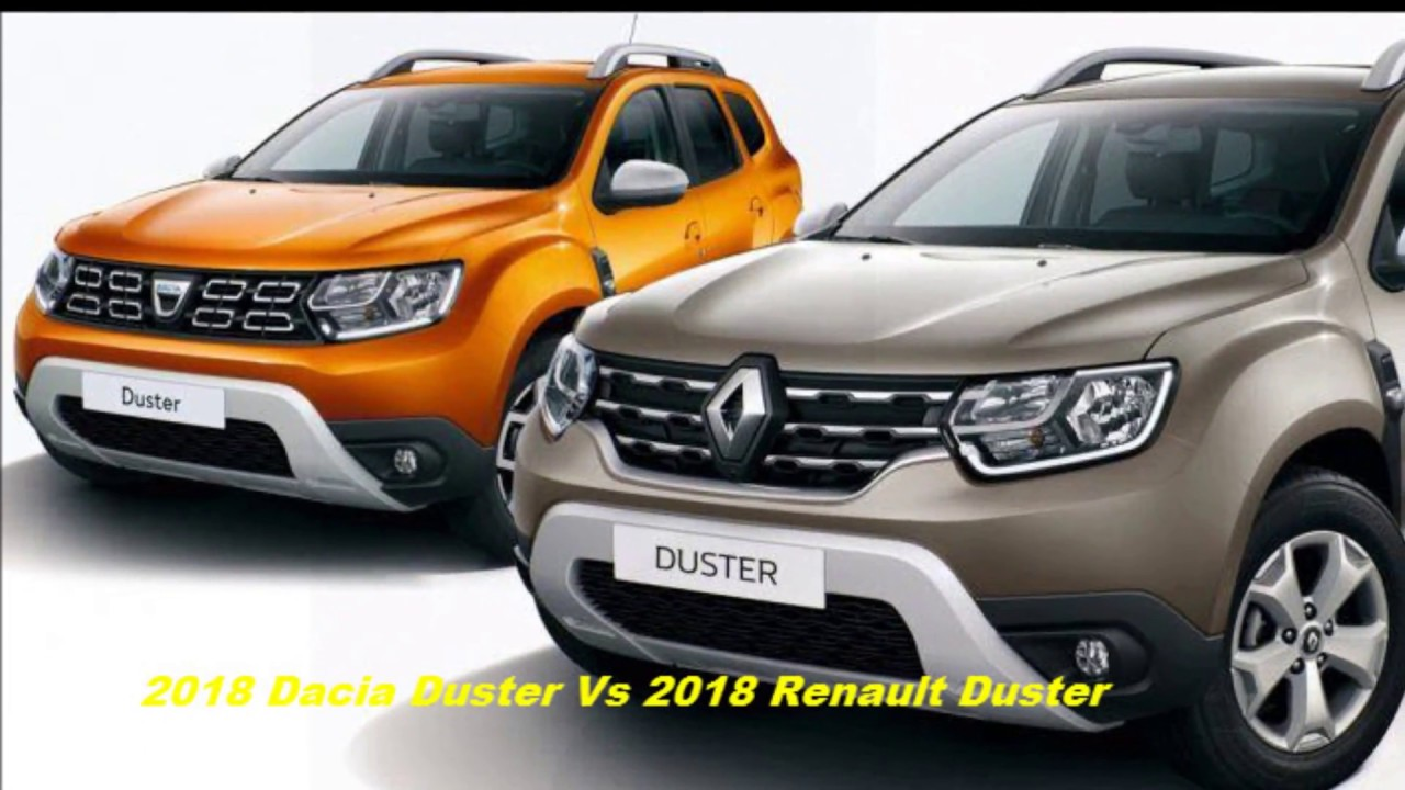 2018 renault duster vs 2018 dacia duster interior and exterior comparison youtube. Black Bedroom Furniture Sets. Home Design Ideas