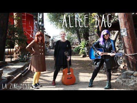 LA ZINE FEST x STUMBLE ON TAPES:  ALICE BAG
