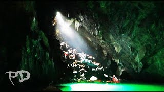 What's Hidden Underwater At The Car Cave (1000's of RARE Cars Underground In Cavern Of Lost Souls)