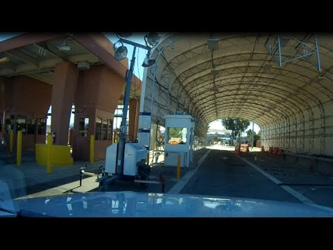 Crossing The Border From The USA into Mexico At Lukeville AZ to Puerto Peñasco