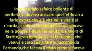 Fuga a cinque voci, di Agnese Gatto, musica di E.Morricone