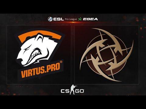CS:GO - Virtus.Pro vs. NiP [Mirage] - ESL ESEA Pro League Dubai Invitational - Group A