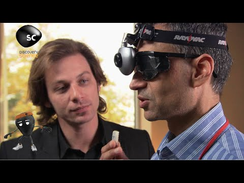 Blind Man Can See With New Technology: Plastic Fantastic Brain