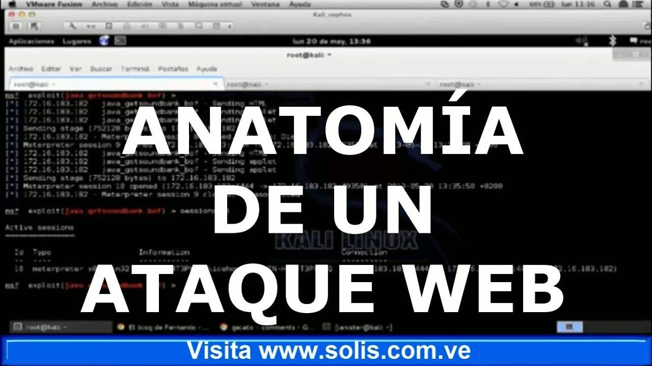 Anatomia de un ataque web - YouTube