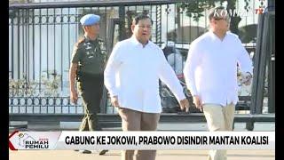 Gabung ke Jokowi, Prabowo Disindir Mantan Koalisi