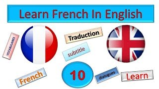 Learn french in english 10