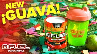 G FUEL Guava Flavor! Inspired by Castro!