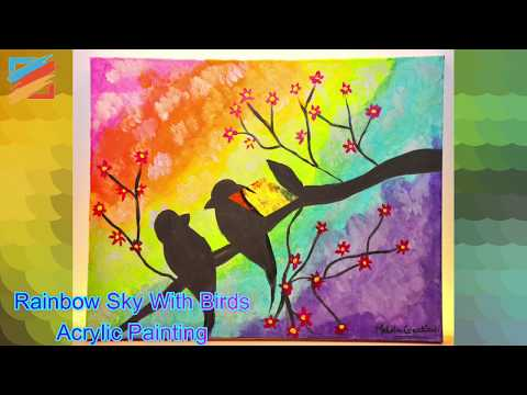 10 Beautiful Acrylic Painting Collections