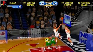 NBA Showtime: NBA on NBC - Gameplay PSX / PS1 / PS One / HD 720P (Epsxe)