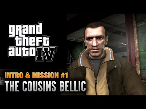 GTA 4 - Mission #1 - The Cousins Bellic