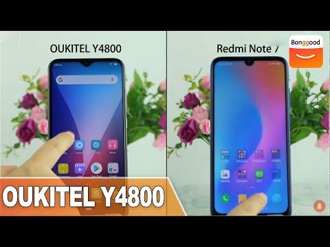 OUKITEL Y4800 vs Redmi Note7 Comparsion | Buy at Banggood