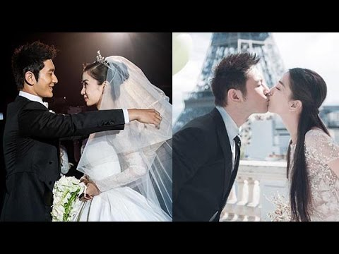 Angelababy, Huang Xiaoming have a baby