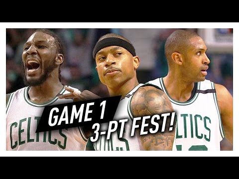 Isaiah Thomas, Al Horford & Jae Crowder ECSF Game 1 Highlights vs Wizards 2017 Playoffs - 19 Threes!
