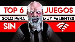 TOP 6 Mejores JUEGOS ¡Sin INTERNET! 2019   Juegos OFFLINE de celulares ANDROID & iOS para VALIENTES