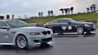 BMW M5 E60 Brutal Eisenmann Exhaust Sound