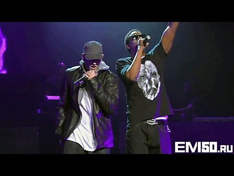 JayZ & Eminem  Renegade  at The Wiltern In LA DJ Hero Party 2009 eminem50centru