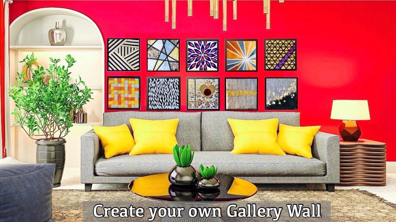 10 Super Duper Easy Wall Art Ideas| Create your own gallery wall| gadac diy| Room Decorating Ideas
