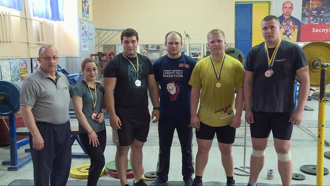 Три медалі здобули коломийські важкоатлети на Чемпіонаті України (відеосюжет)