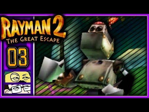 [Rennende Roboter] - Moggy & Jonny lieben Rayman 2 - #3