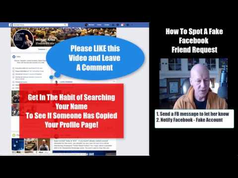 How To Spot A FAKE Facebook Friend Request - Agent Inner Circle