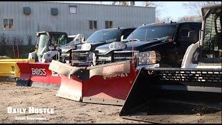 Boss Plows Snow Wolf Snow Fleet !!!!Lawn care Landscaping