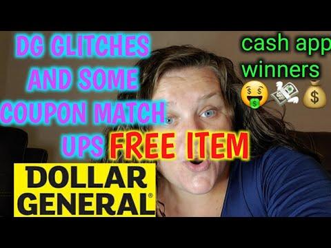 FREE PLUS GLITCH COUPON MATCHUPS AT DOLLAR GENERAL