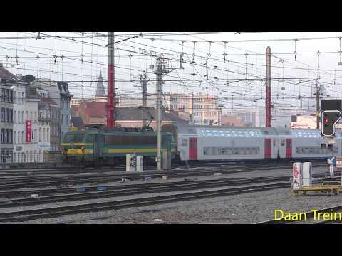 M5 met HLE 21 05 vertrekken uit Brussel Zuid