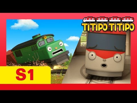 TITIPO S1 EP4 l Hey, Diesel! Tell me your Secret!! l Trains for kids l TITIPO TITIPO