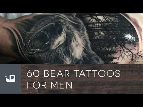 60 Bear Tattoos For Men