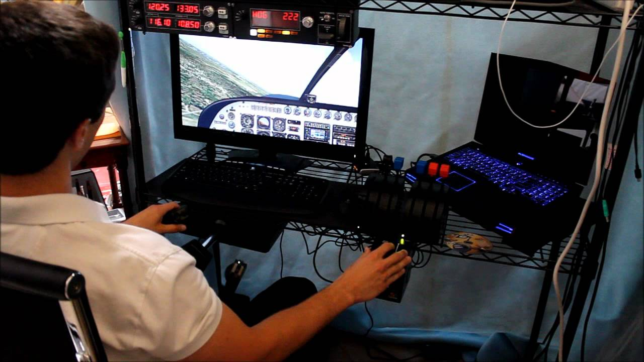 Home flight simulator set up - Home Flight Simulator Set Up 12