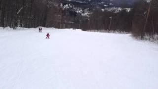 Isaac en ski