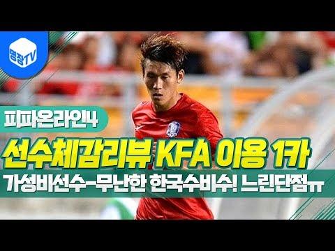 명장의 피파온라인4:FIFA ONLINE4[선수체감리뷰 2018 KFA시즌 이용 1카:가성비선수-한국식윙백윙어,느린 단점!ㅠㅠ,보통선수 꿀잼멘트]공략/초고수